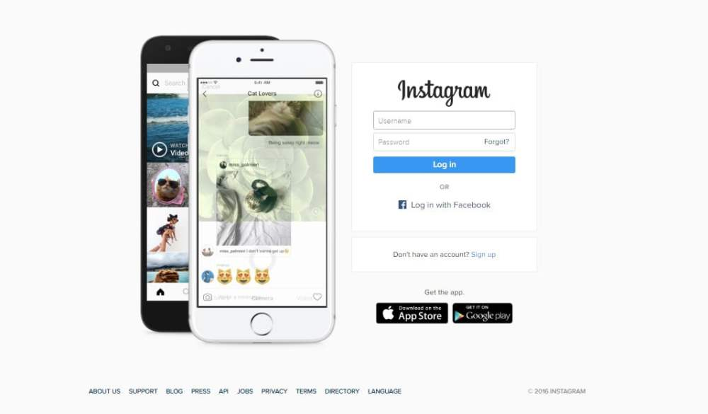 Social Media Websites - Instagram