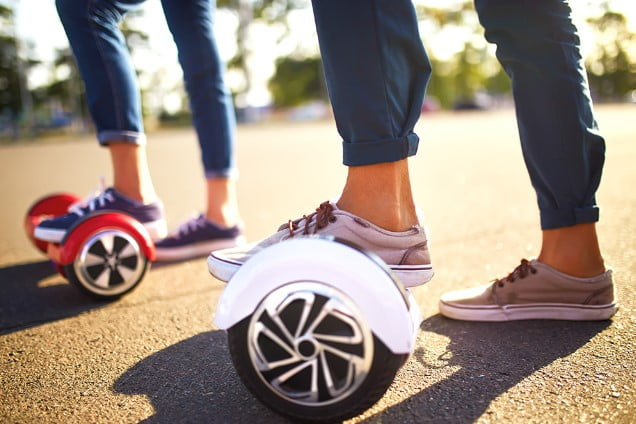 The Self Balancing Hoverboard Scooters