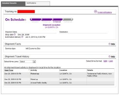 N900 Shipping Details