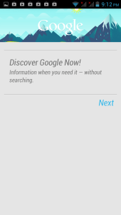 Google Now on O+ 8.6