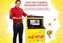 CYBERYA Blogger Contest