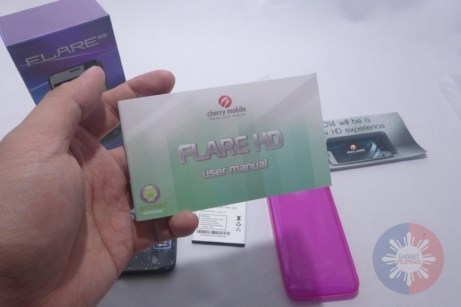 Cherry Mobile Flare HD Unboxing 9