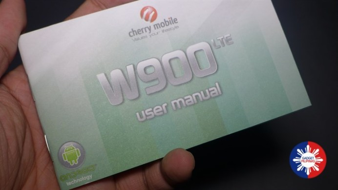 Cherry Mobile W900 LTE Unboxing 1