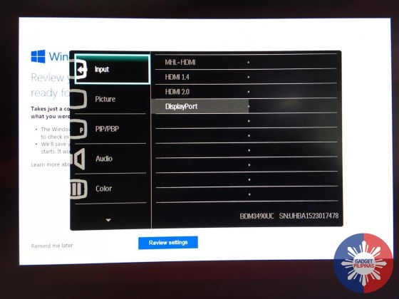 Philips BDM349OUC Curved UltraWide LCD Monitor Review 15