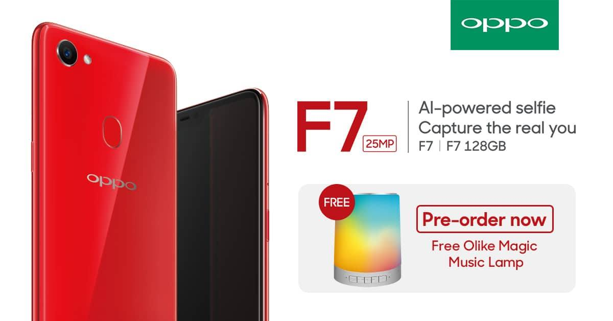 OPPO F7 Pre Order Details Revealed Priced At PhP17990