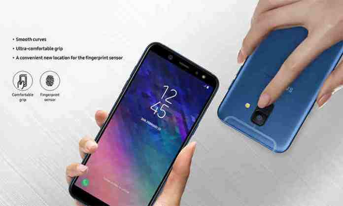 Galaxy A6 feature comparative mobile3