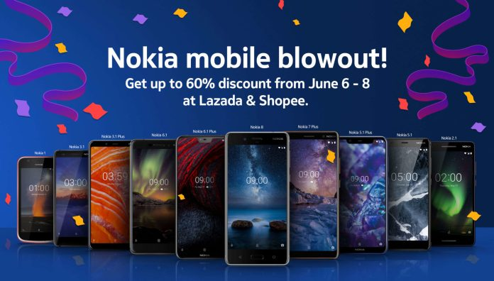 Nokia mobile Lazada and Shopee promos 1
