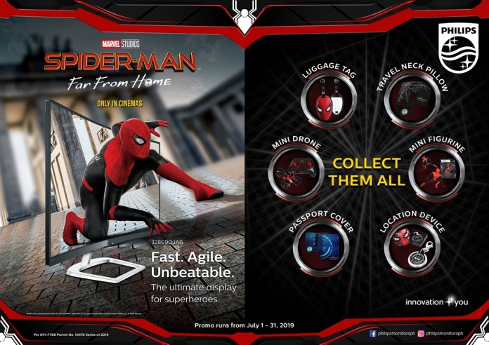 philips monitors, Get a Premuim Spider-Man: Far From Home Collectible With Every Purchase of Select Philips Monitors!, Gadget Pilipinas, Gadget Pilipinas