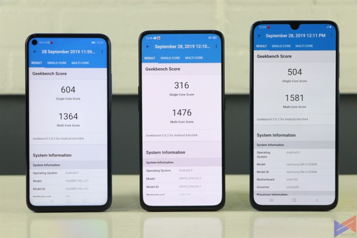 Huawei Nova 5T, Three-Way Battle: Huawei Nova 5T vs Samsung Galaxy A70 vs OPPO Reno, Gadget Pilipinas, Gadget Pilipinas