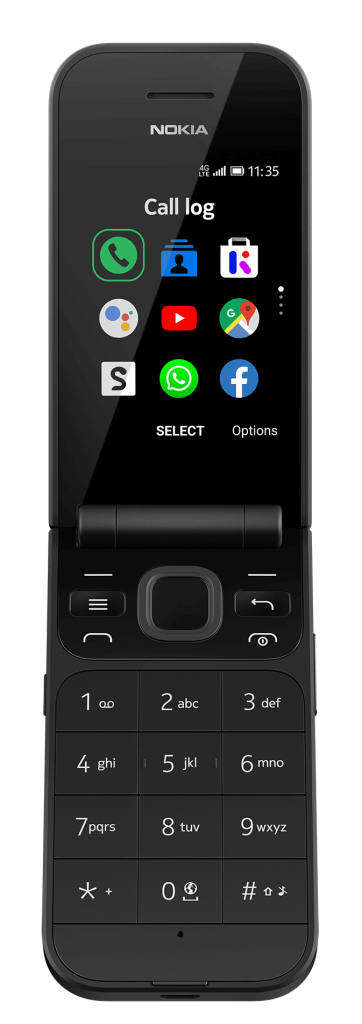 Nokia 2720 Rationals Black Open SS HS FRN PNG