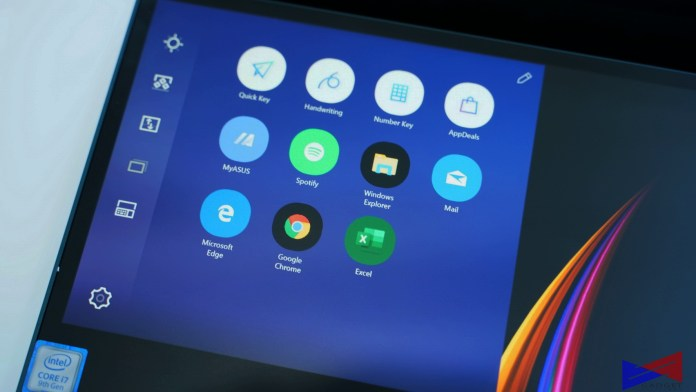 Zenbook Pro Duo Review Screenpad display
