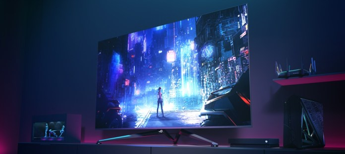 ROG Swift PG65UQ Big Format Gaming Display Press Release- Scenario
