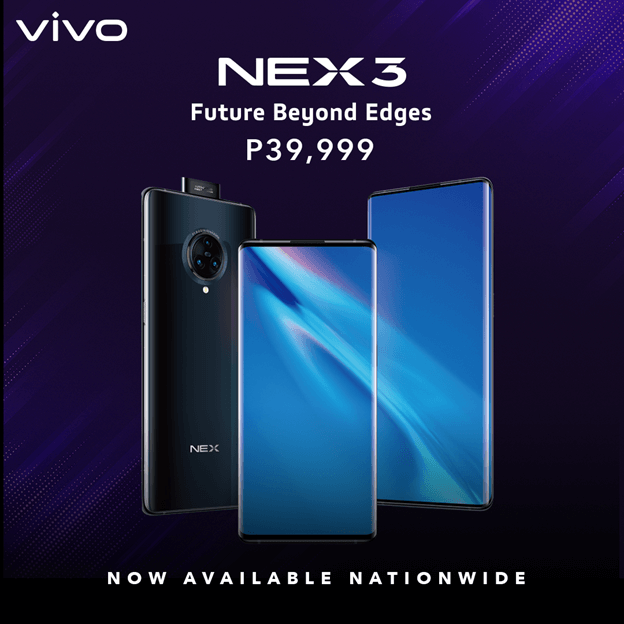 Vivo NEX 3 Now Available in Stores
