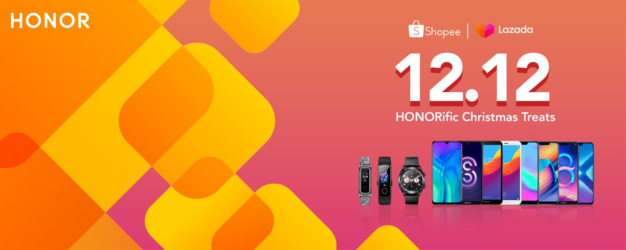 Enjoy Great Discounts For Honor Products This 12 12 Gadget Pilipinas Tech News Reviews Benchmarks And Build Guides