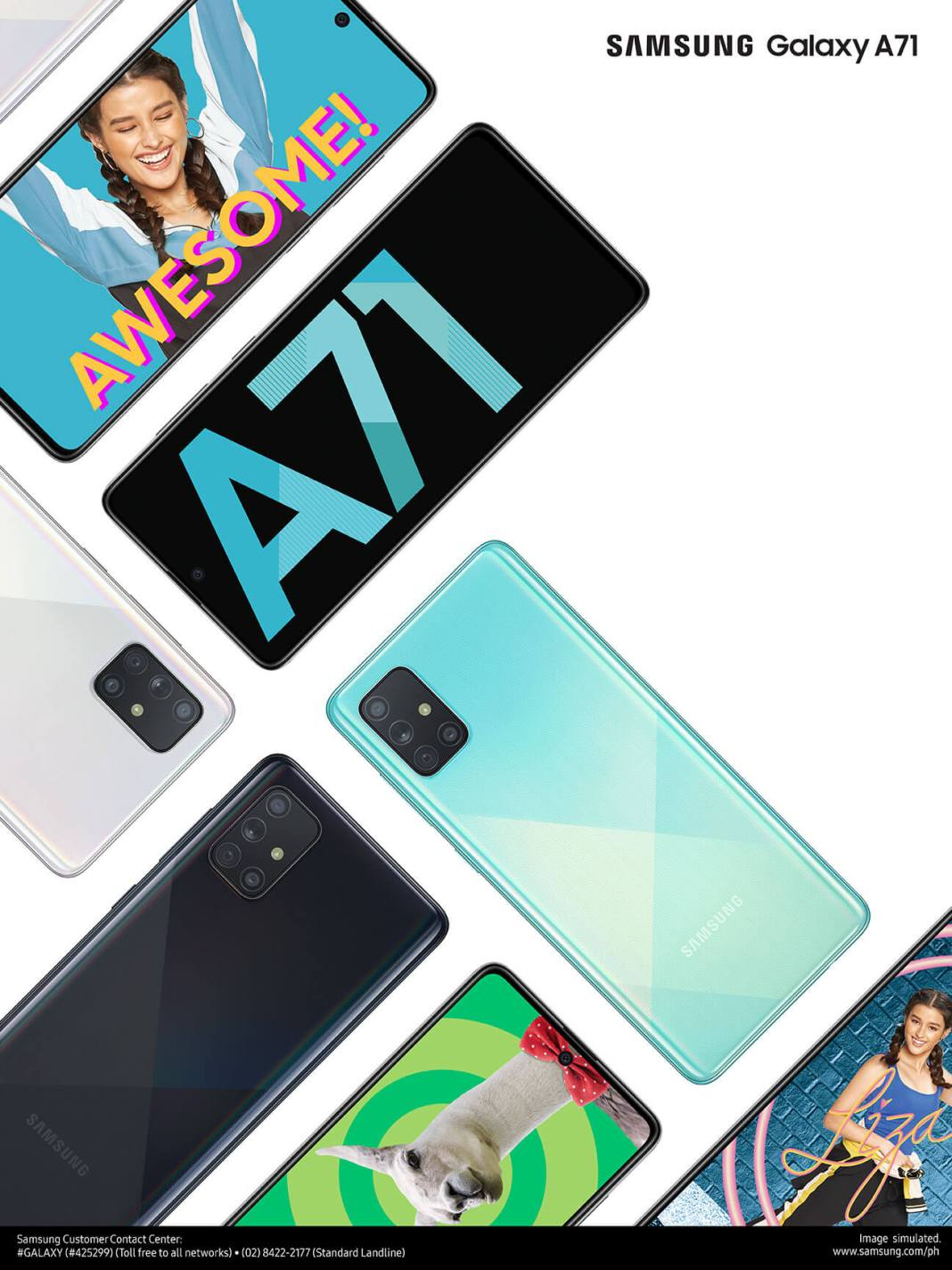Galaxy A71, Samsung Galaxy A71 Now Available in Stores!, Gadget Pilipinas, Gadget Pilipinas