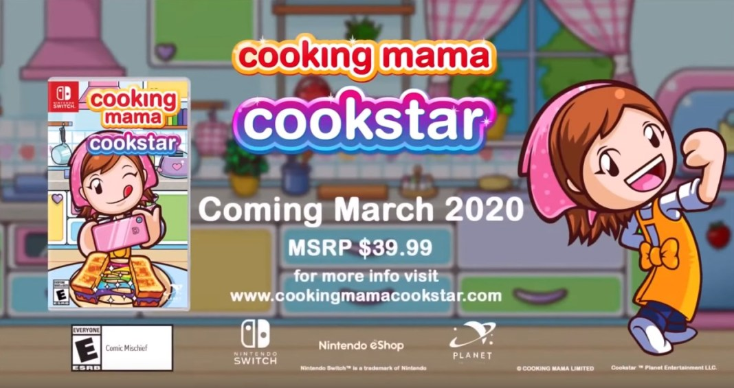 Cooking mama cookstar nintendo switch, Cooking Mama: Cookstar for the Nintendo Switch might be coming out in March, Gadget Pilipinas, Gadget Pilipinas