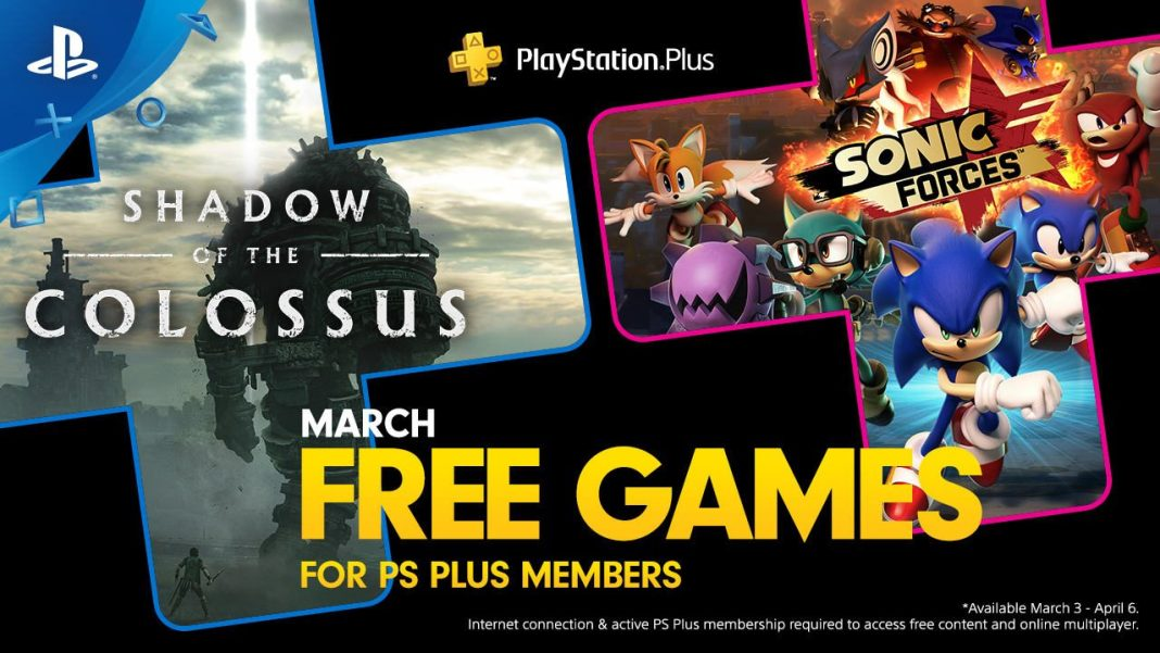 ps plus free games shadow of the colossus sonic forces, Your free PS Plus games for March are Shadow of the Colossus and Sonic Forces, Gadget Pilipinas, Gadget Pilipinas