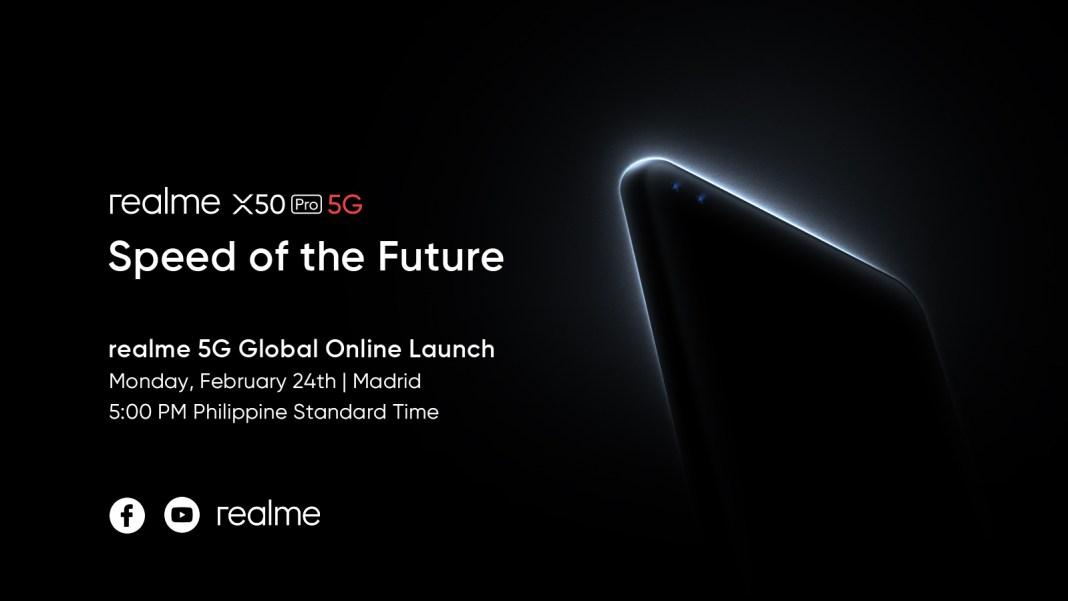 realme X50 Pro 5G Live-Stream-Announcement