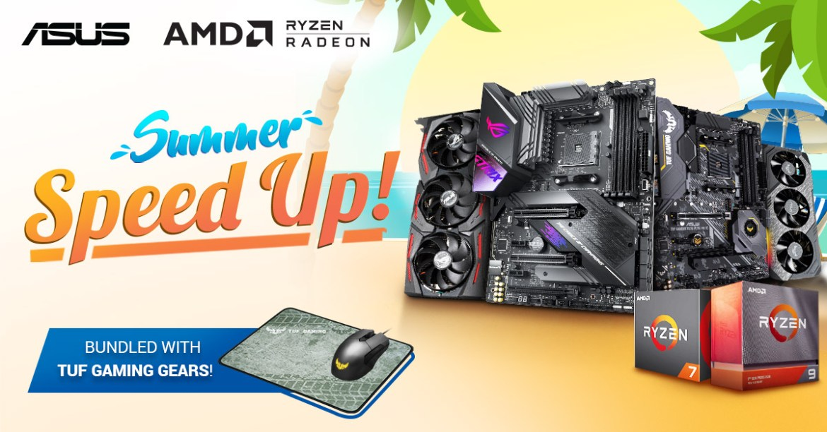 ASUS Summer Speed Up Promotion