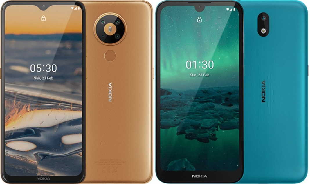 Nokia 5.3 and 1.3