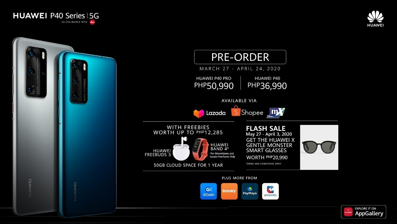 , Huawei P40 Series Pre-order details in the Philippines, Gadget Pilipinas, Gadget Pilipinas