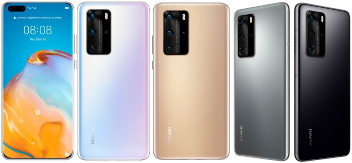 P40 Pro - All Colors