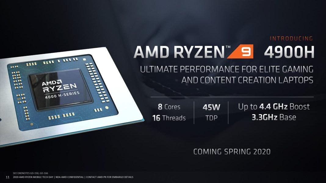 Ryzen 9 4900H, AMD Announces Ryzen 9 4900H Processor for Gaming Notebooks!, Gadget Pilipinas, Gadget Pilipinas