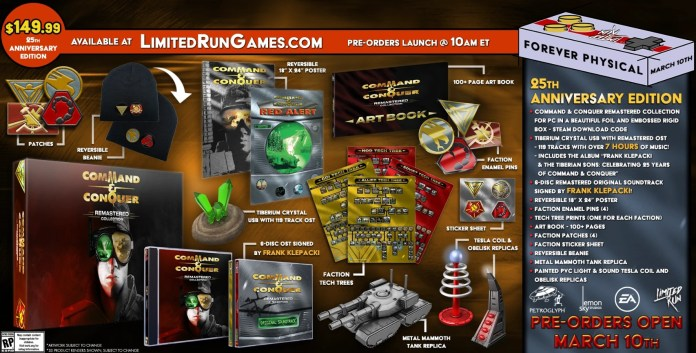 command and conquer 25th anniversary edition