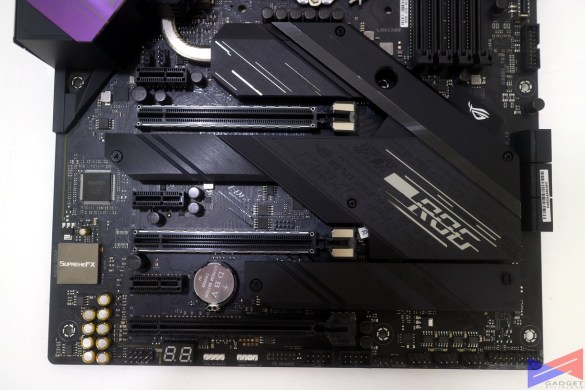 ASUS ROG Strix Z490-E Gaming Motherboard Initial Review - PCIE slots