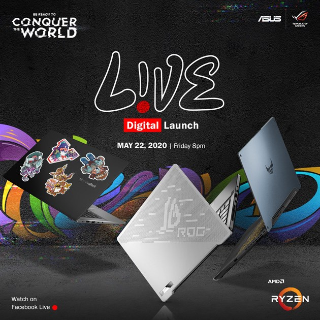 ASUS launch May 22