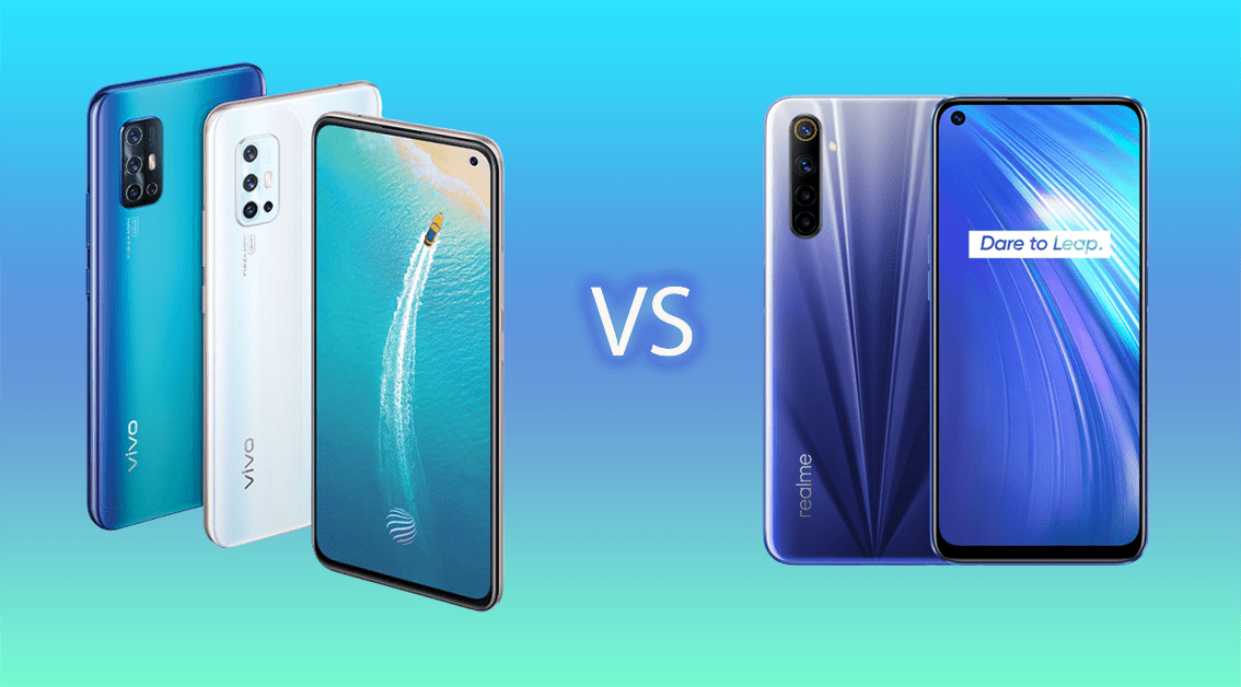 V19 Neo vs realme 6 Specs Comparison