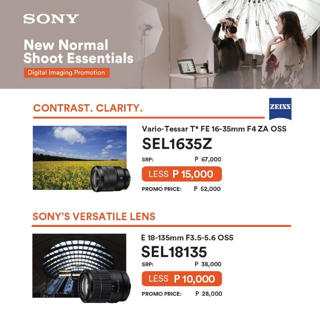 Sony New Normal Shoot Essentials 3