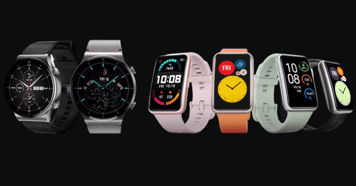 Huawei Watch GT 2 Pro and Fit (1)