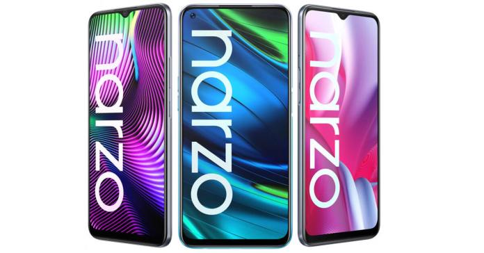 realme Narzo 20 Series - Featured