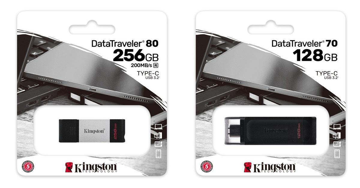 Kingston DataTraveler 70 and 80