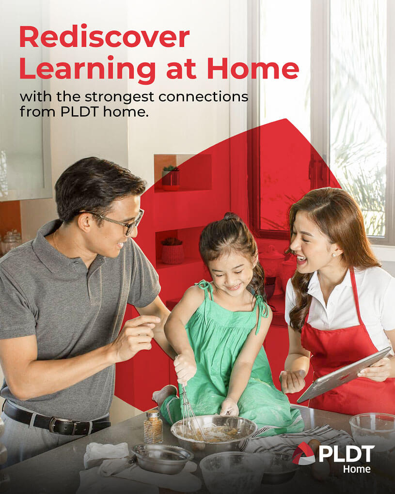 PLDT Home - Learning in the New Normal