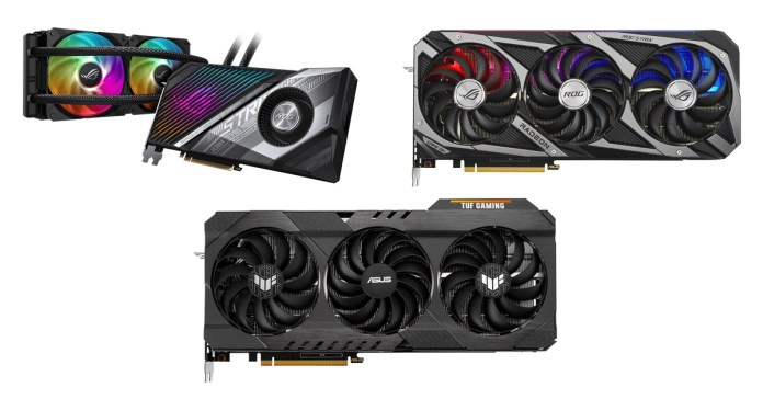 ROG and TUF Gaming Radeon RX 6800 Series GPUs
