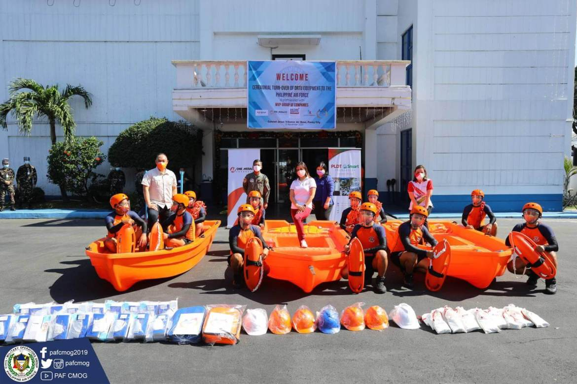 MVP Group - PAF Boat Donations