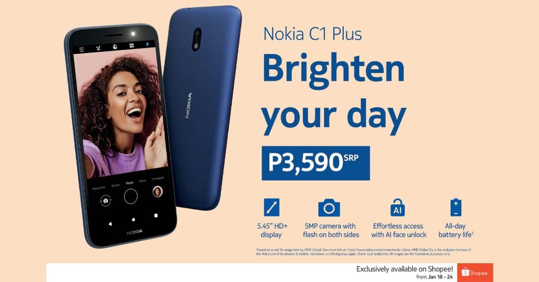 Nokia C1 Plus -1