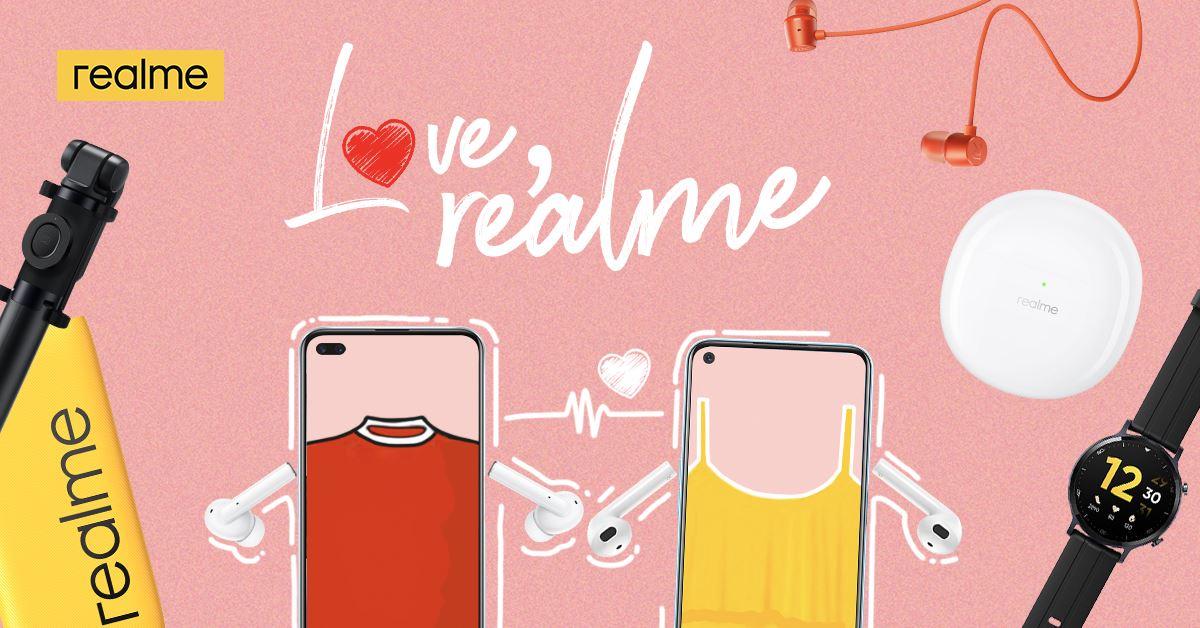 realme Valentine's Day Promo