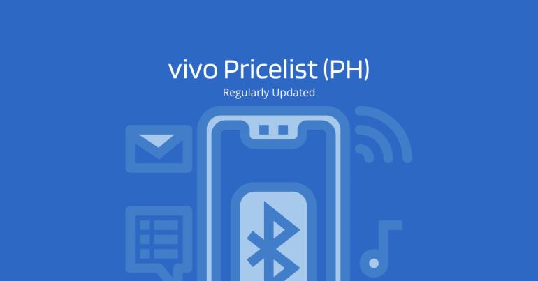 vivo Pricelist - 2