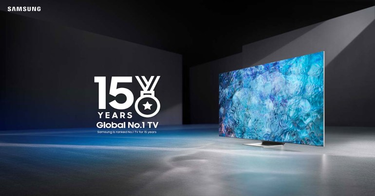 Samsung Named No. 1 Global TV Manufacturer for 15 years