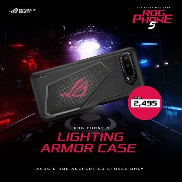 ROG Phone 5 Series - ROG Lighting Armor Case