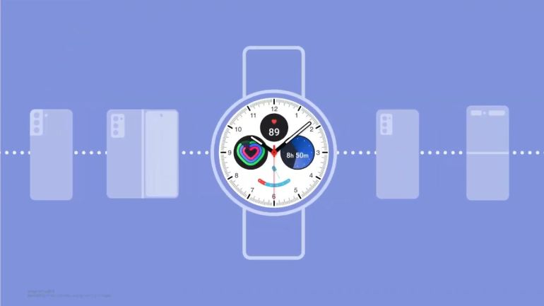 Samsung One UI Watch integration