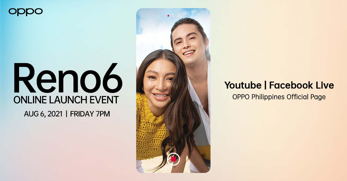 OPPO Reno6 Series Arriving in PH on August 6