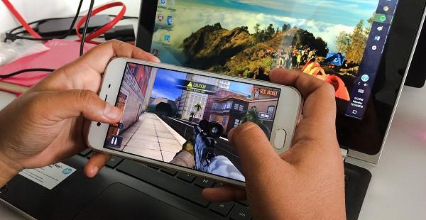 OPPO F1s game edited - Review Smartphone OPPO F1S, Smartphone Menengah Dengan Kamera Mantap!