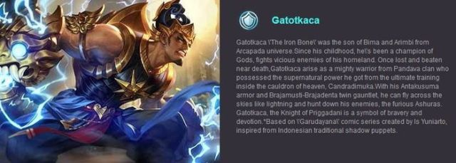 Mobile Legends Gatotkaca