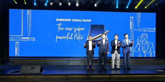 Samsung Galaxy Note9 Launch Header