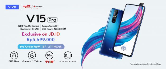 Banner pre-order Vivo V15 Pro JD.ID