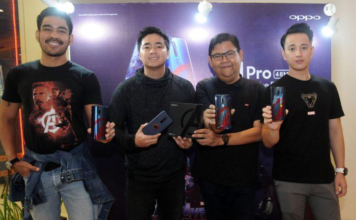 Bersamaan dengan nonton bareng Avengers Edisi Terbatas!! OPPO F11 Pro Avengers Kini Hadir di Indonesia
